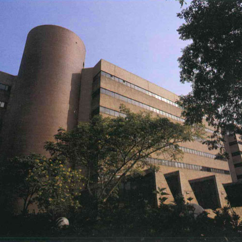 The Polytechnic University Ng Wing Hong Building & Chow Yei Ching Building at 11 Yuk Choi Road, Hong Kong