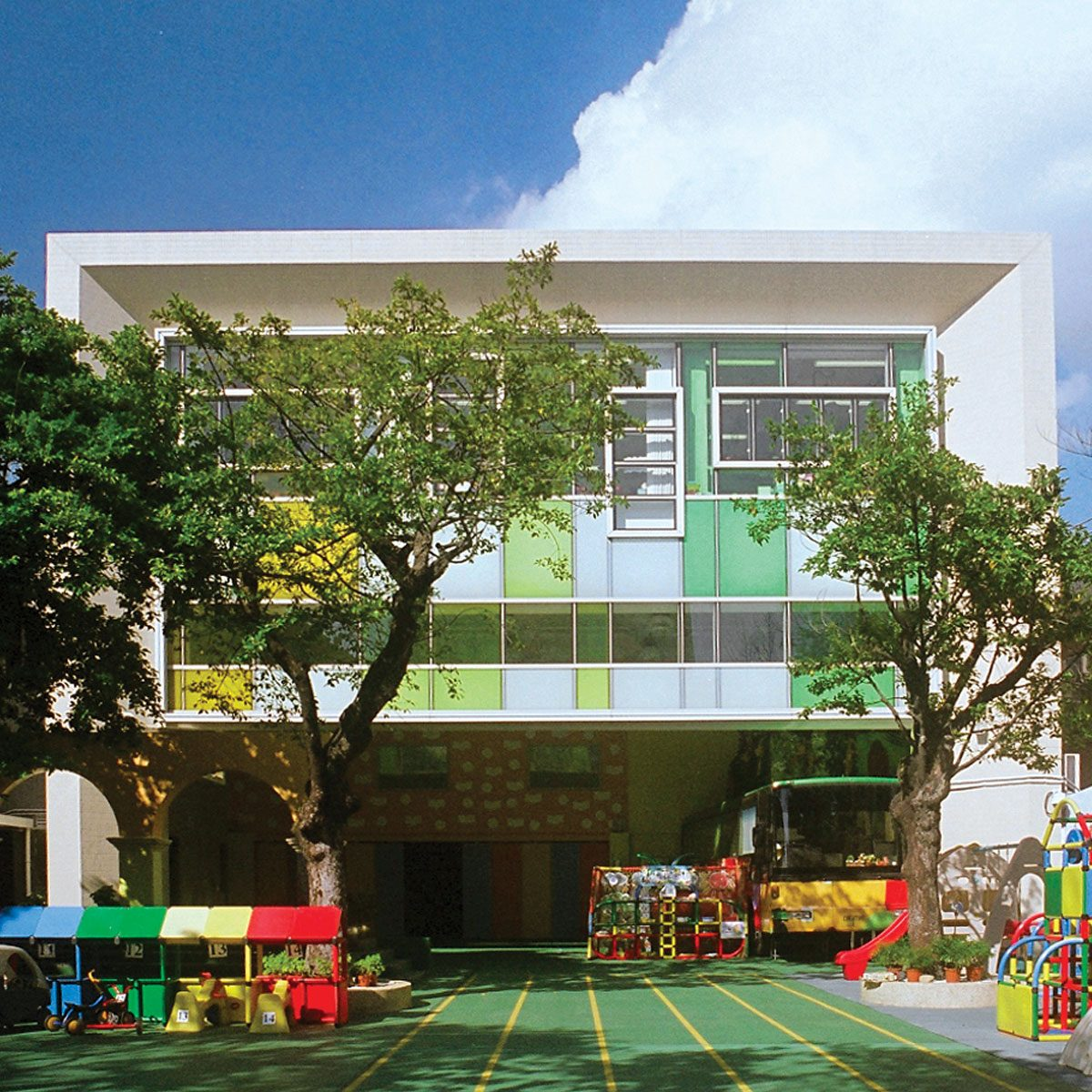 Creative Kindergarten, Institutional Development at 6 Rutland Quadrant, Kowloon Tong, Kowloon