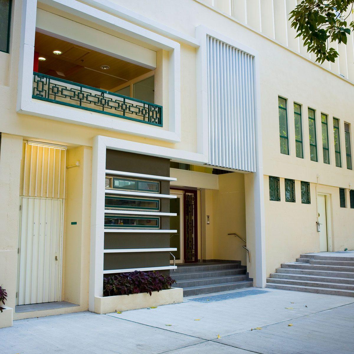 HKU Post-Graduate Residence at No.10 Ching Lin Terrace, Kennedy Town, Hong Kong