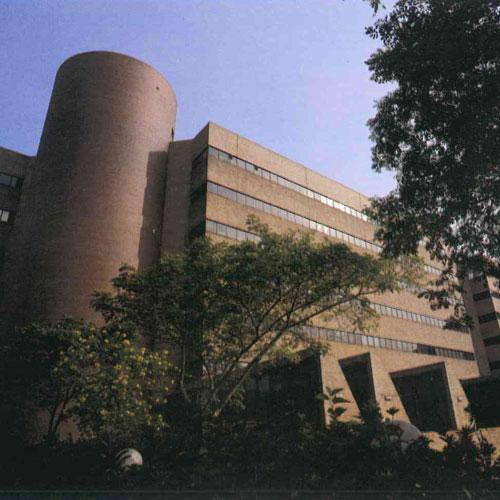 The Polytechnic University Ng Wing Hong Building & Chow Yei Ching Building at 11 Yuk Choi Road, Hong Kong